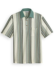 Palmland® Vertical Striped Polo