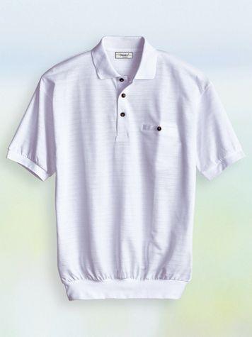 Palmland® Short-Sleeve Jacquard Polo - Image 2 of 2