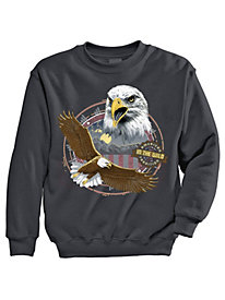 Signature Graphic Sweatshirt - Eagle Heights
