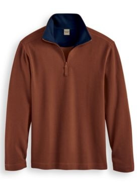 Scandia Woods Quarter-Zip Pullover Shirt