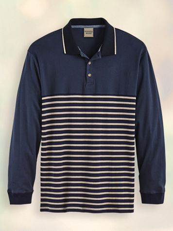 Scandia Woods Deck-Stripe Polo - Image 2 of 2