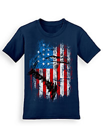 Signature Graphic Tee - Flag Portrait