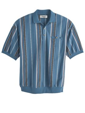 Palmland® Vertical Stripe Polo