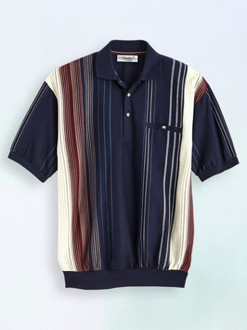 Palmland® Vertical Stripe Polo - Image 0 of 1