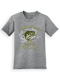 Signature Graphic Tee - Grandpa's Fishing