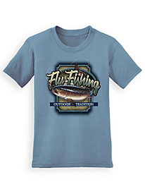 Signature Graphic Tee - Fly Fishing