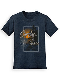 Signature Graphic Tee - Natural Camp
