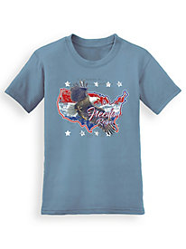 Signature Graphic Tee - Eagle America