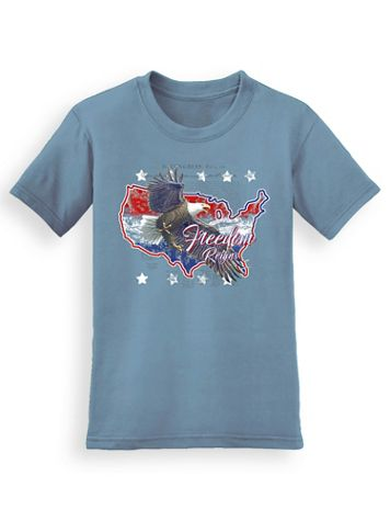 Signature Graphic Tee - Eagle America - Image 1 of 3