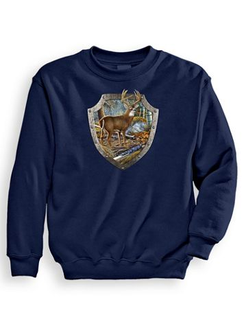 Signature Graphic Sweatshirt - Armour Buck - Image 1 of 4
