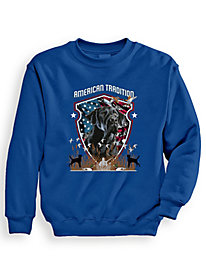 Signature Graphic Sweatshirt - American Tradition