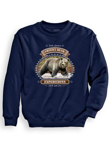 Signature Graphic Sweatshirt - Grizzly Expeditions - Image 1 of 3