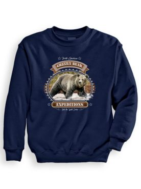 Signature Graphic Sweatshirt - Grizzly Expeditions