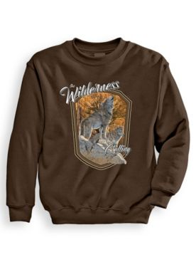 Signature Graphic Sweatshirt - Wilderness Calling
