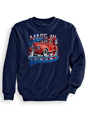 Signature Graphic Sweatshirt - Made in America - Image 1 of 3