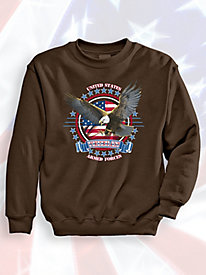 Signature Graphic Sweatshirt - Armed Forces