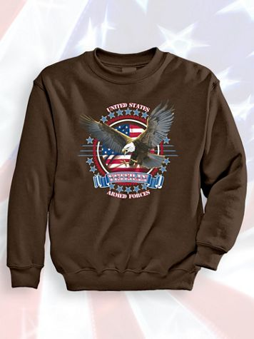 Signature Graphic Sweatshirt - Armed Forces - Image 1 of 3