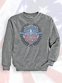 Signature Graphic Sweatshirt - For Freedom