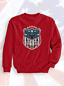 Signature Graphic Sweatshirt - Eagle Badge