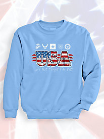 Signature Graphic Sweatshirt - Vet Logos