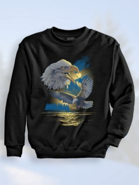Signature Graphic Sweatshirt - Eagle Island