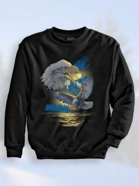 Signature Graphic Sweatshirt - Eagle Island
