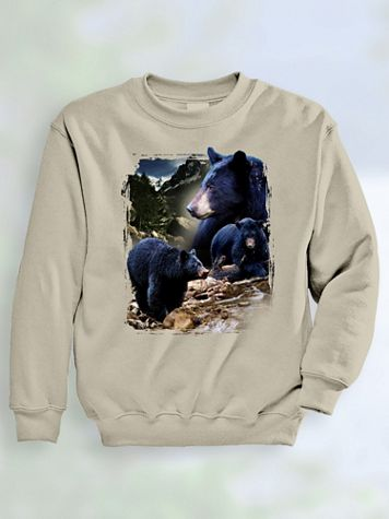 Signature Graphic Sweatshirt - Black Bear River - Image 1 of 4