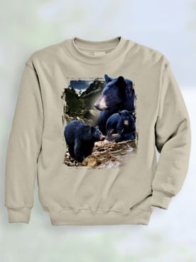 Signature Graphic Sweatshirt - Black Bear River