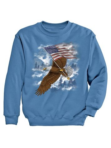 Signature Graphic Sweatshirt - Eagle Mist - Image 2 of 2