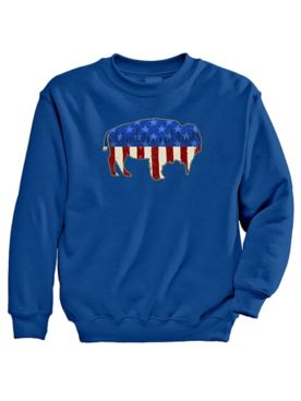 Signature Graphic Sweatshirt - American Bison