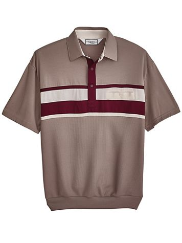 Palmland® Short-Sleeve Horizontal Polo - Image 1 of 4