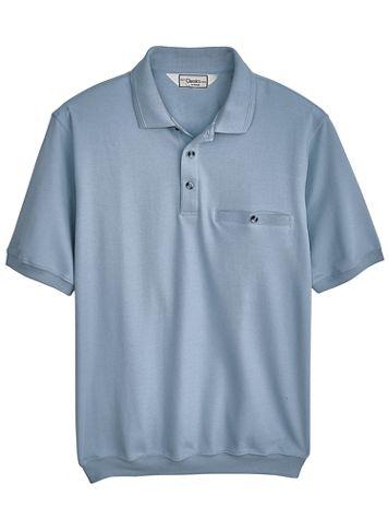 Palmland® Short-Sleeve Banded-Bottom Polo - Image 1 of 3