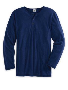 Scandia Woods Long-Sleeve Slub-Knit Henley