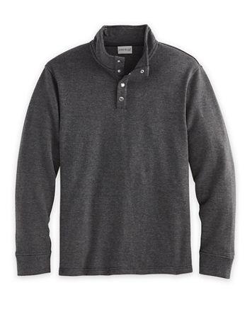 John Blair Long-Sleeve Snap Fleece Pullover - Image 1 of 3