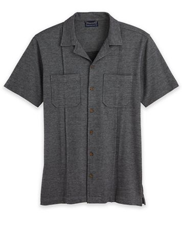 John Blair Knit Button-Down Shirt - Image 1 of 3
