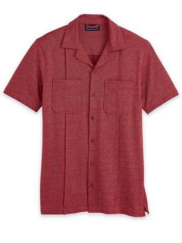 John Blair Knit Button-Down Shirt - Image 2 of 2