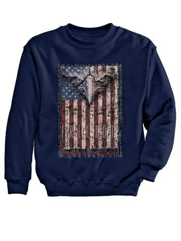 Eagle Freedom Graphic Sweatshirt - Image 2 of 2