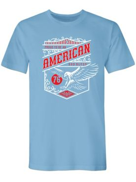 American Vintage Crest Graphic Tee