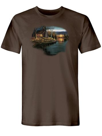 Log Cabin Graphic Tee - Image 2 of 2