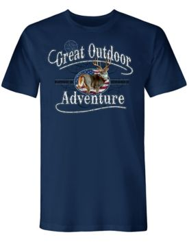 Buck Adventure Graphic Tee