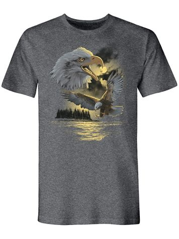 Outdoor Eagle Graphic Tee - Image 2 of 2