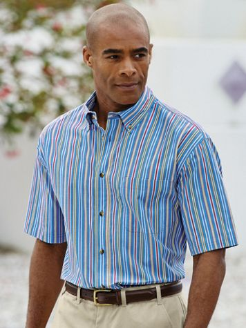 Scandia Woods Sanded Poplin Shirt - Image 1 of 5