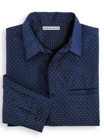 Irvine Park® Microfiber Dot Dress Shirt - Image 1 of 1