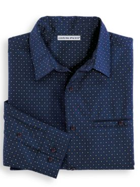 Irvine Park® Microfiber Dot Dress Shirt