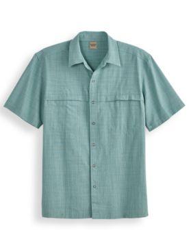 Scandia Woods Cross-Hatch Snap-Front Shirt