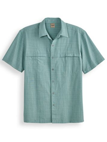 Scandia Woods Cross-Hatch Snap-Front Shirt - Image 0 of 1
