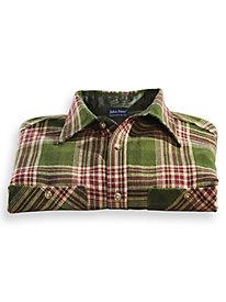 John Blair Signature Flannel Shirt by Blair