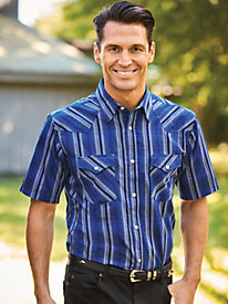 High Noon Short Sleeve Snap Front Shirt