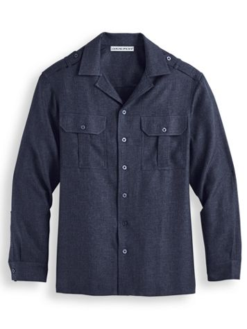 Irvine Park® Mélange Pilot Shirt - Image 1 of 1