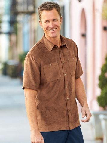 Scandia Woods Microsuede Shirt - Image 1 of 4